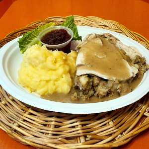 Turkey Dinner | Charcoal Corral Dinner Special