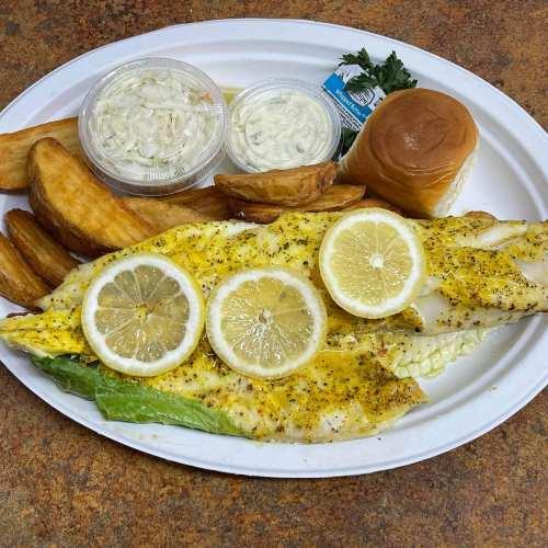 Lemon Pepper Haddock - Broiled Haddock Special
