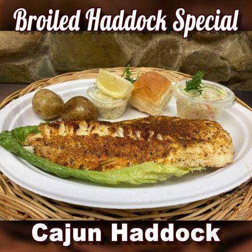Cajun Haddock - Broiled Haddock Special