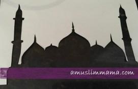 Masjif puffy paint Ramadan craft (4)