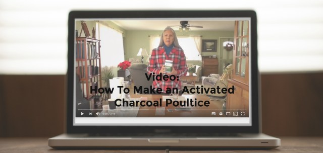 poultice video 1024x486 - Activated Charcoal for IBS