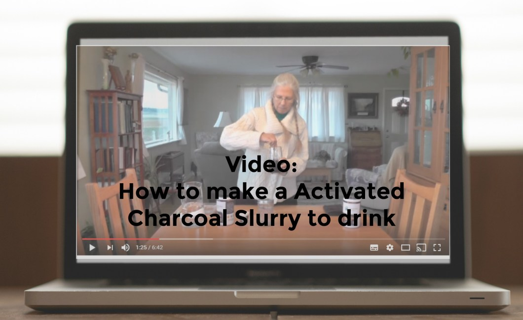 slurry video - Video: How to make a Activated Charcoal Slurry to drink