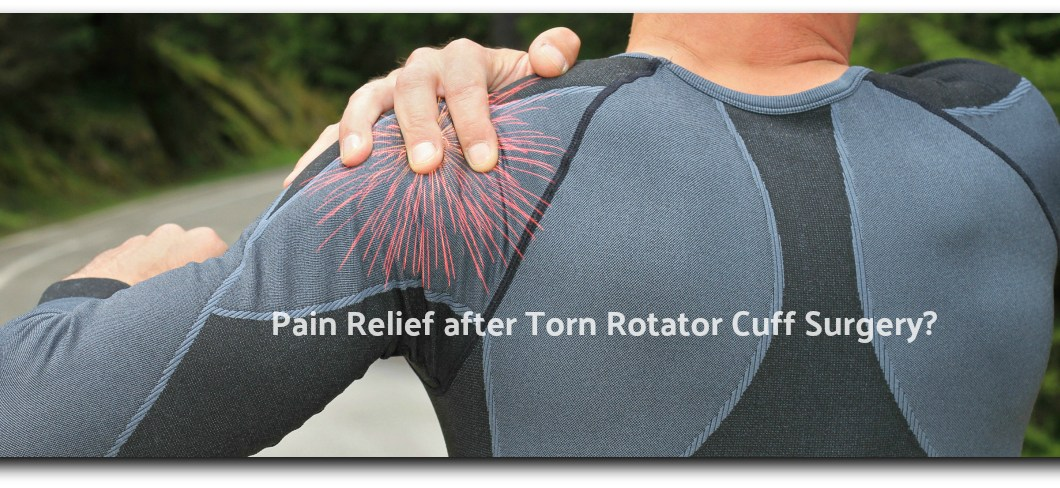 shoulder pain - Charcoal for Pain Relief after Torn Rotator Cuff Surgery?