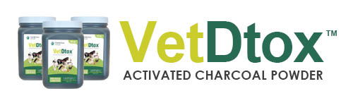 vet detox logo - Using Activated Charcoal on Horse with Brown Recluse Bite