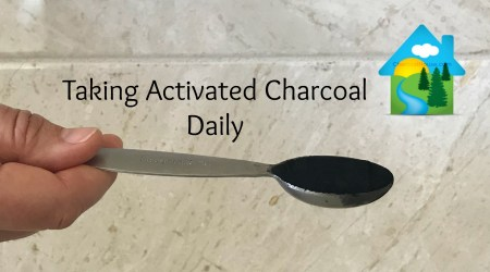 Taking Detox 1600 Activated Charcoal Daily 450x250 - Charcoal Green® for Gardens, Flowers, Crops, Soil