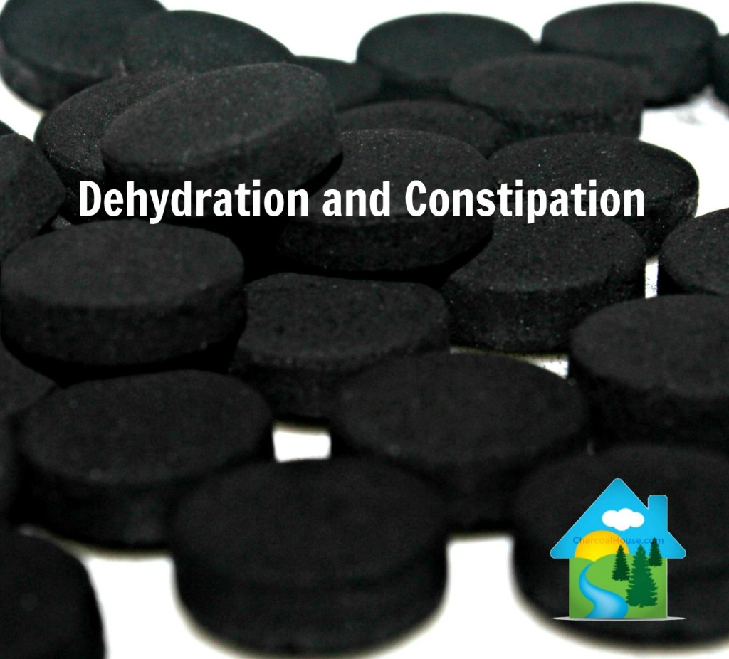 Dehydration and Constipation  - Dehydrated & Constipated when taking Charcoal