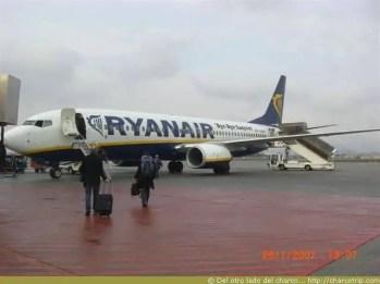 Subiendo al RyanAir