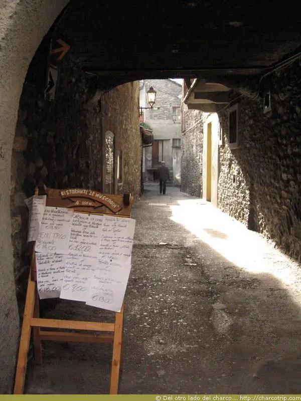 Restaurante en Aosta