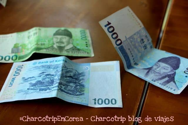 Billetes de Won