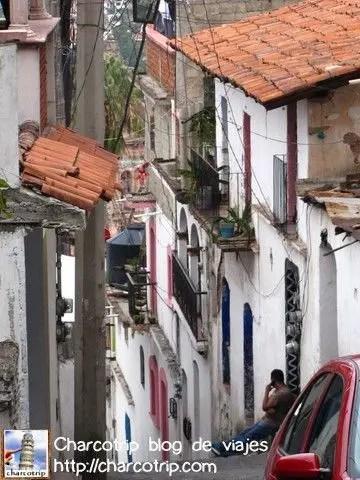 Como pueden ver las calles son empinadisimas
