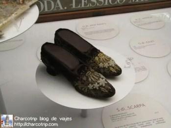 Zapatos en exhibicion