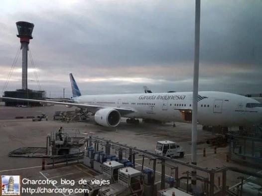 El avión que nos esperaba
