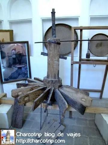 Una muestra de los artefactos que se utilizaban