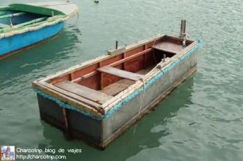 Este barco tenia forma de ataud