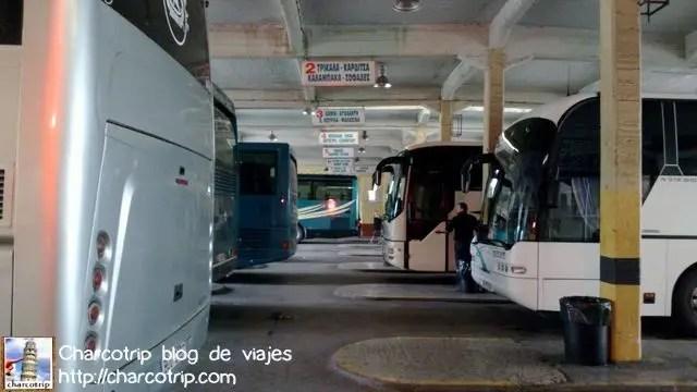 Autobuses griegos