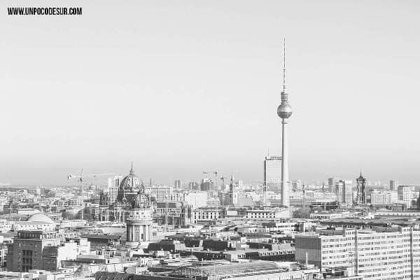 Berlin comenzando el año por Un poco de sur