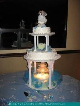 El pastel de bodas / The wedding cake / Le gâteau