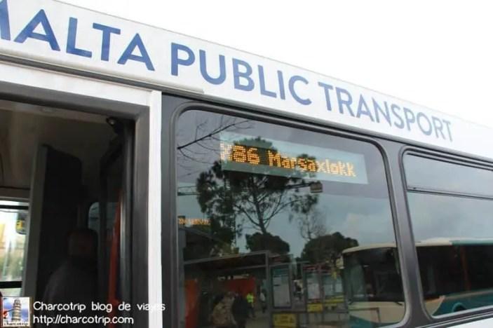bus marsaxlokk