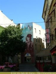 Gran pintura de Nostradamus