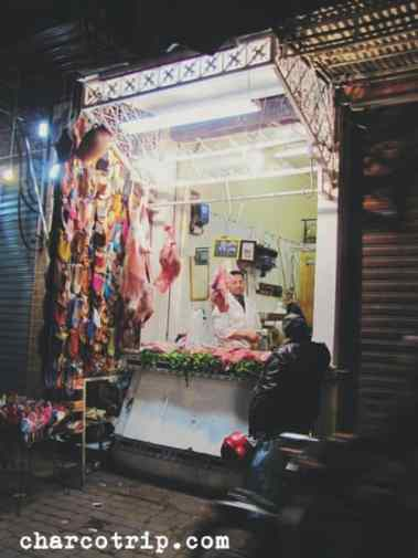Carnicería de Marrakech