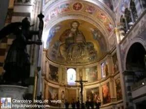 El interior de la catedral