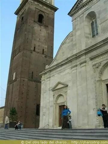 Entrada de la catedral Turin