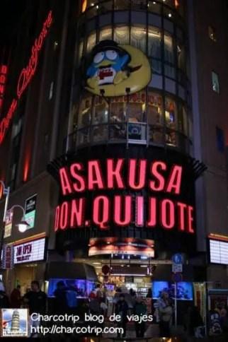Don Quijote en Asakusa