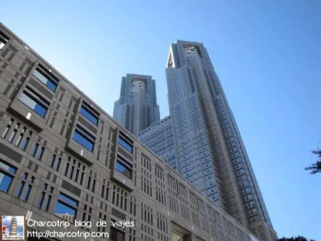 Y aqui estan las dos imponentes torres