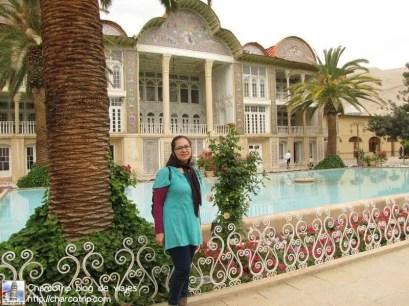 Yo con el palacio Eram