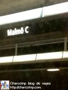Después de eso ya estamos en Malmo, Suecia