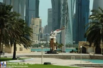 estatua-oryx-doha