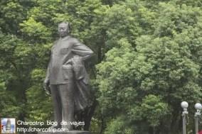 Estatua en el malecon