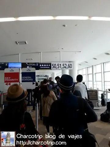 Abordando, hasta luego Japón