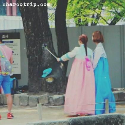 Selfie coreana