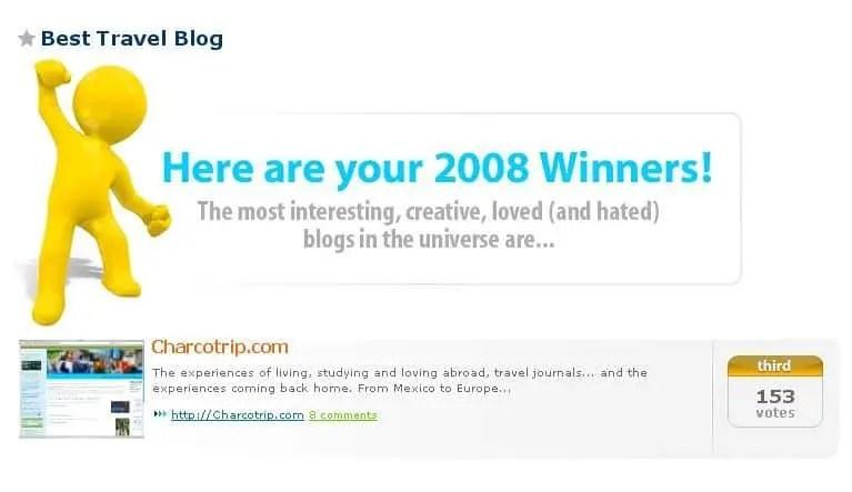 Bloggers Choice Awards