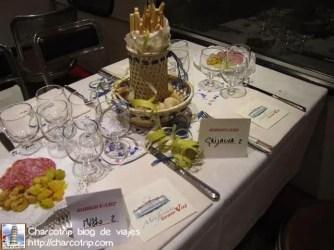 Nuestra mesa servida