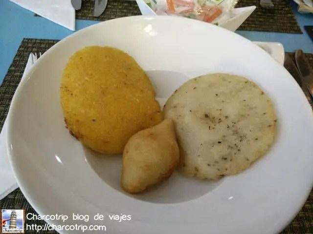 Arepa de huevo y de anis