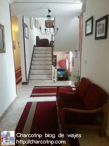 Uno de los pasillos