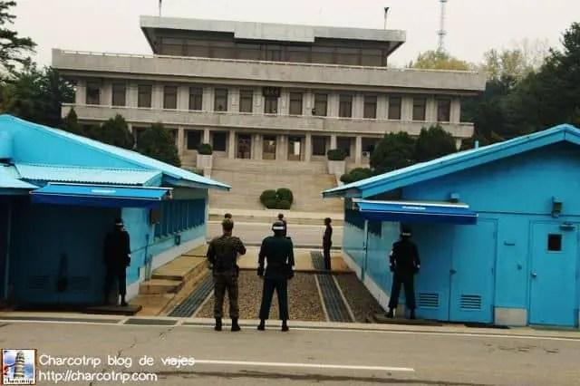 Desde Corea del Sur, viendo hacia el Norte