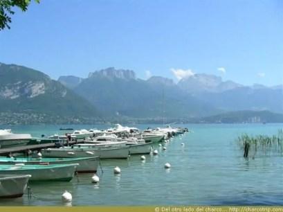 El lago de Annecy
