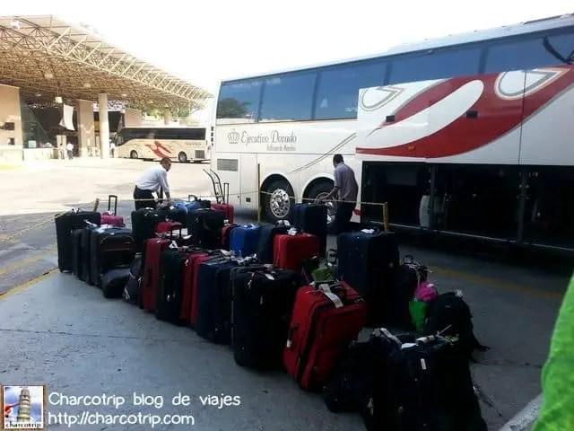 Y ahí nos esperaban nuestras maletas