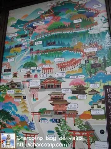 Mapa de Fushimi Inari