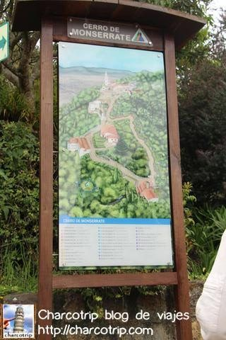 Mapa Monserrate