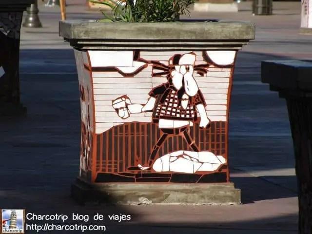 Este se que es un dibujo famoso de la ciudad pero no me acuerdo del nombre... HELP!