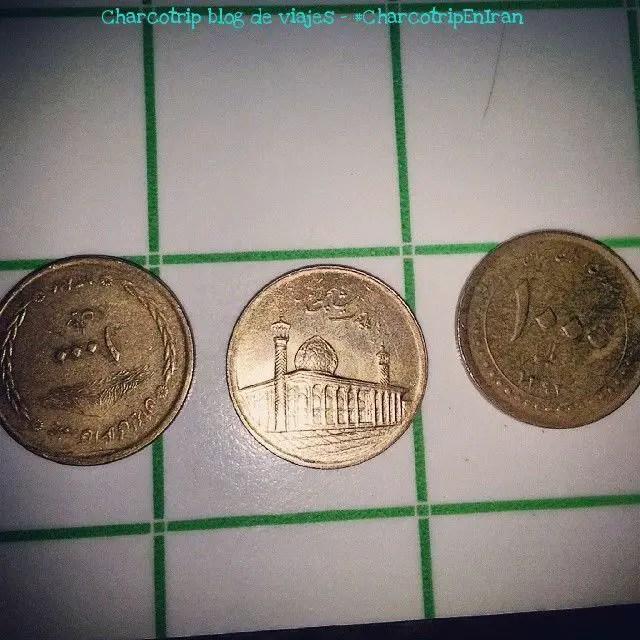 Monedas de rial, valen muy poco pero son buen recuerdo