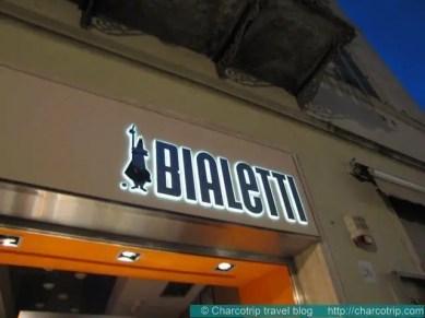 Una famosa marca de cafeteras italianas