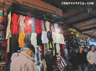 Puesto de ropa