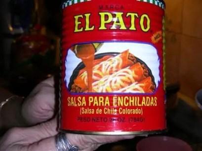 Salsa pato (o salsa de tomate)