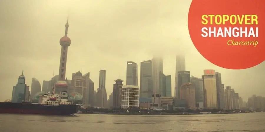Una stopover en Shanghai