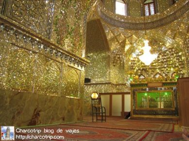 shiraz Imamzadeh interior